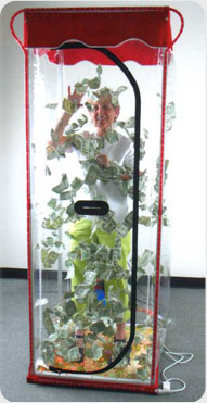 money tornado machine